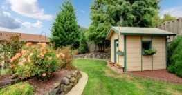 Arten und Bauweisen von Gartenhäusern im Überblick