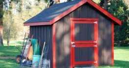 Das klassische Holzgartenhaus