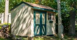 Jedes Gartenhaus braucht ein Fundament