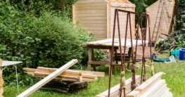 Der Eigenbau von Gartenhäusern
