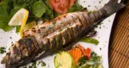 Grillen mit Fisch