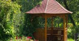 Gartenhaus und Pavillon als Orte der Entspannung