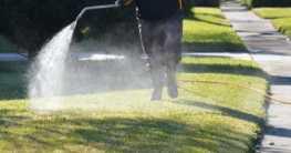 Die richtige Rasen Bewässerung