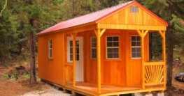 Das Gartenhaus für Wohnzwecke